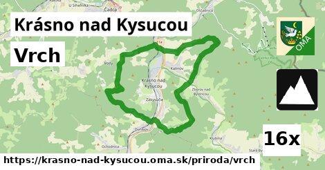 ilustračný obrázok k Vrch, Krásno nad Kysucou