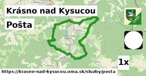 ilustračný obrázok k Pošta, Krásno nad Kysucou