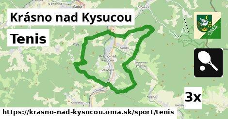 ilustračný obrázok k Tenis, Krásno nad Kysucou