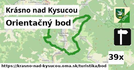 ilustračný obrázok k Orientačný bod, Krásno nad Kysucou