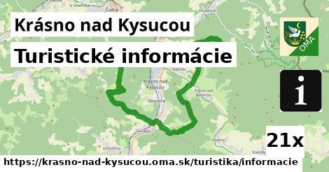 ilustračný obrázok k Turistické informácie, Krásno nad Kysucou