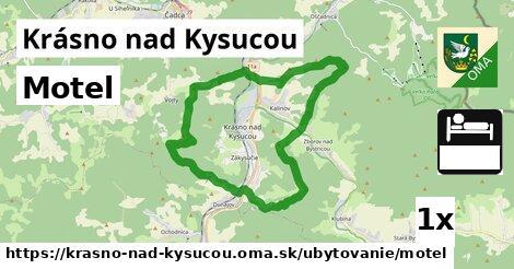 ilustračný obrázok k Motel, Krásno nad Kysucou