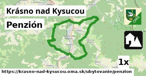 ilustračný obrázok k Penzión, Krásno nad Kysucou