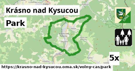 ilustračný obrázok k Park, Krásno nad Kysucou