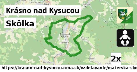 ilustračný obrázok k Skôlka, Krásno nad Kysucou
