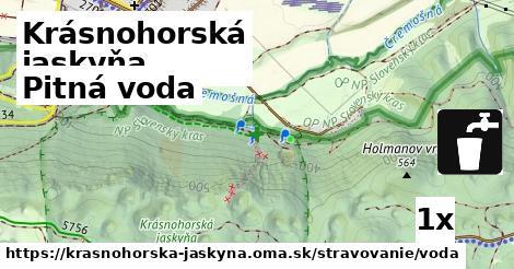 ilustračný obrázok k Pitná voda, Krásnohorská jaskyňa