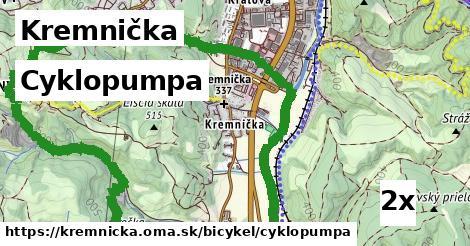 cyklopumpa v Kremnička
