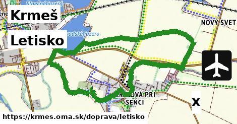 ilustračný obrázok k Letisko, Krmeš