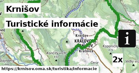 turistické informácie v Krnišov