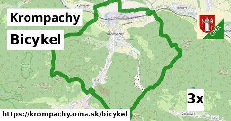bicykel v Krompachy