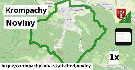 noviny v Krompachy