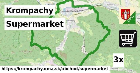 supermarket v Krompachy