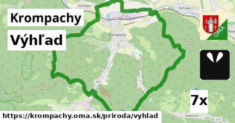 výhľad v Krompachy