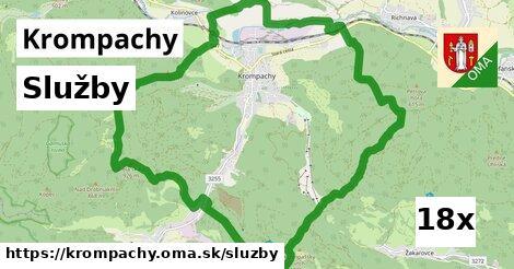 služby v Krompachy