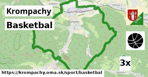 basketbal v Krompachy
