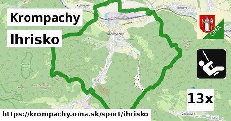ihrisko v Krompachy