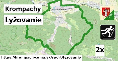 lyžovanie v Krompachy