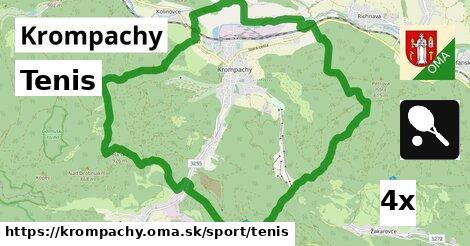 tenis v Krompachy