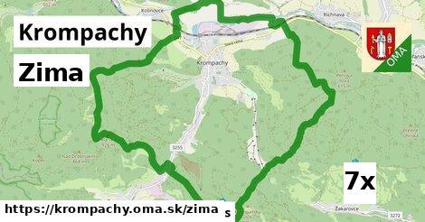 zima v Krompachy