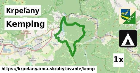 kemping v Krpeľany