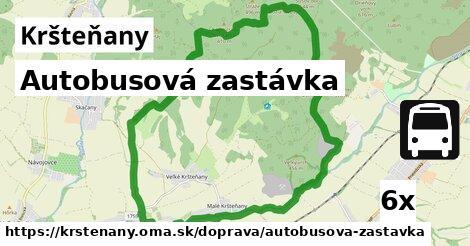 ilustračný obrázok k Autobusová zastávka, Kršteňany