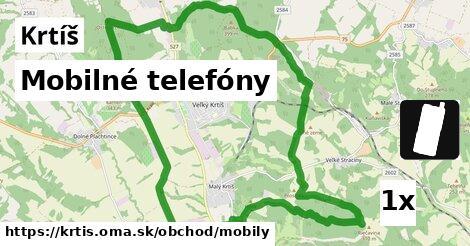 mobilné telefóny v Krtíš