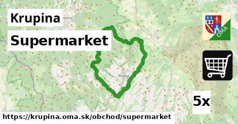 supermarket v Krupina