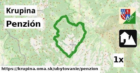 penzión v Krupina