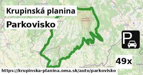 ilustračný obrázok k Parkovisko, Krupinská planina