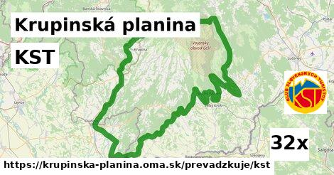 ilustračný obrázok k KST, Krupinská planina