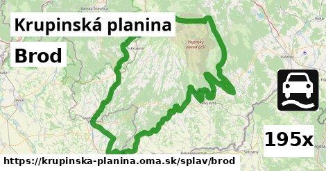 ilustračný obrázok k Brod, Krupinská planina