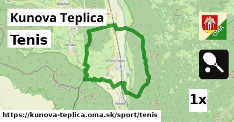 tenis v Kunova Teplica