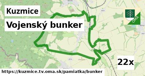 vojenský bunker v Kuzmice, okres TV
