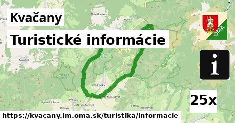 ilustračný obrázok k Turistické informácie, Kvačany, okres LM