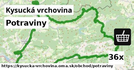 ilustračný obrázok k Potraviny, Kysucká vrchovina