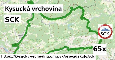 SCK, Kysucká vrchovina