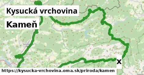 ilustračný obrázok k Kameň, Kysucká vrchovina