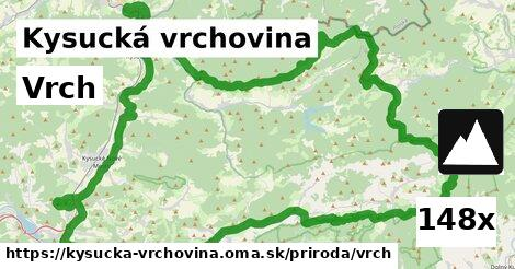 ilustračný obrázok k Vrch, Kysucká vrchovina