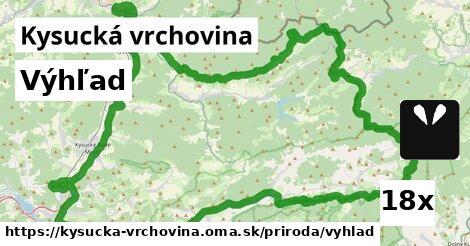 ilustračný obrázok k Výhľad, Kysucká vrchovina