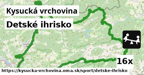 ilustračný obrázok k Detské ihrisko, Kysucká vrchovina
