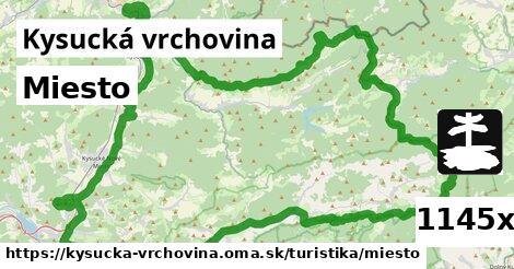 ilustračný obrázok k Miesto, Kysucká vrchovina