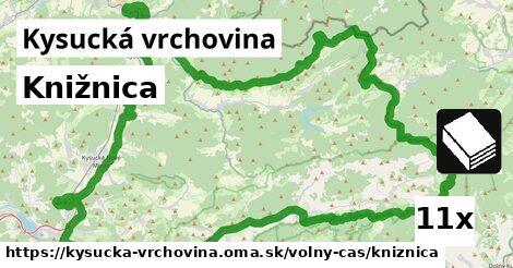 ilustračný obrázok k Knižnica, Kysucká vrchovina