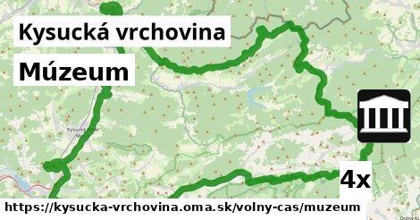 ilustračný obrázok k Múzeum, Kysucká vrchovina