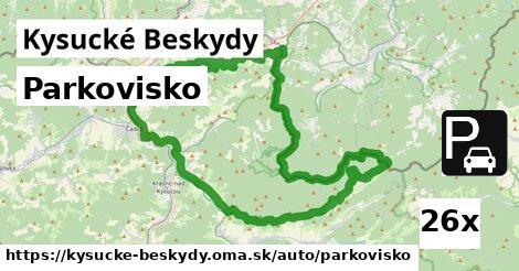 ilustračný obrázok k Parkovisko, Kysucké Beskydy