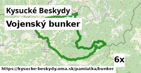 ilustračný obrázok k Vojenský bunker, Kysucké Beskydy
