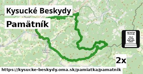 ilustračný obrázok k Pamätník, Kysucké Beskydy
