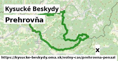 ilustračný obrázok k Prehrovňa, Kysucké Beskydy