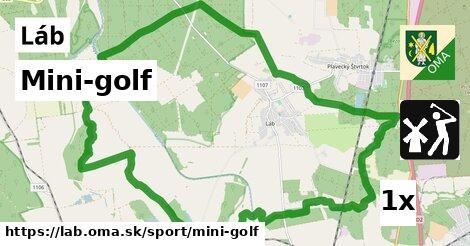 mini-golf v Láb