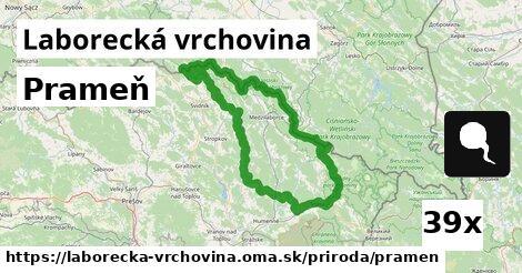 ilustračný obrázok k Prameň, Laborecká vrchovina