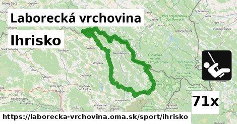 ilustračný obrázok k Ihrisko, Laborecká vrchovina